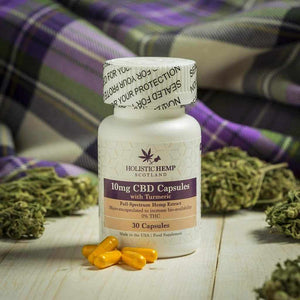 Full spectrum CBD Capsules UK - Holistic Hemp Scotland