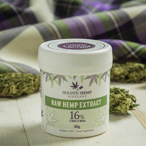 Holistic Hemp Scotland CBD Paste 4800mg 30 gram-UK CBD Supermarket