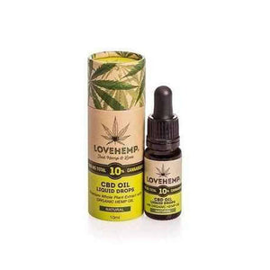 Love Hemp™ 1000mg Organic 10% CBD Cannabidiol Oil – 10ml Bottle-Love Hemp-Quintessential Tips