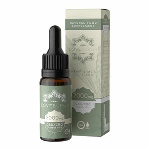 Loveburgh 20% MCT Blend CBD Oil  - Buy here UK CBD Shop