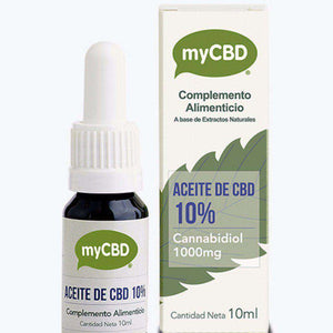MYCBD 10% CBD Oil With 1000mg Full Spectrum Cannabidiol -10ml Bottle-CBD Oil-MYCBD-Quintessential Tips