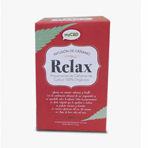 MYCBD TEA UK - relax tea