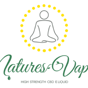 Natures Vapes UK Logo for CBD Eliquids made with pure VG