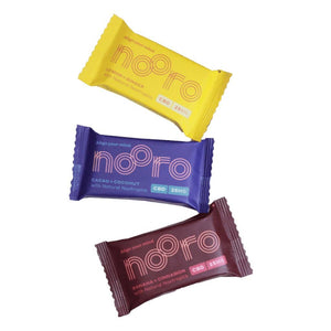 Nooro CBD Oat Bars | Vegan CBD Snack Bars with 25mg CBD | Healthy & Nutritious