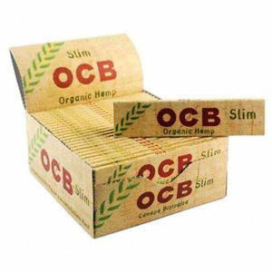 OCB Organic Hemp Rolling Papers | Kingsize Slim & Regular