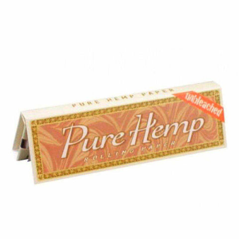 Pure Hemp Unbleached Cigarette Rolling Smoking Papers - All Sizes & Multipacks