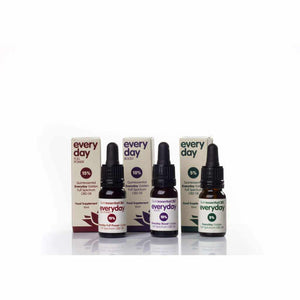 Quintessential Everyday Golden Full Spectrum CBD Oil - Three Strengths-Gold CBD Oil-Quintessential CBD Oils UK-5% (EveryDay)-Quintessential Tips