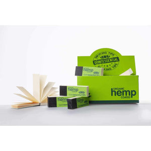 Quintessential Organic Hemp Coated Smoking Roach Tips & Filters - Single Tips-Quintessential Tips