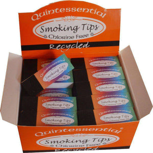Quintessential Recycled Smoking Roach Tips Box