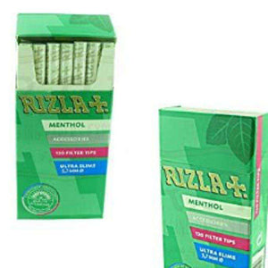 Rizla Menthol Filters for sale - Rolls filters