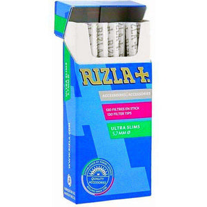 Rizla ultra slim smoking filter rolls for hand rolling cigarettes