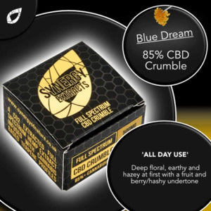 Blue Dream CBD Wax Crumble UK - Cannabis Terpenes