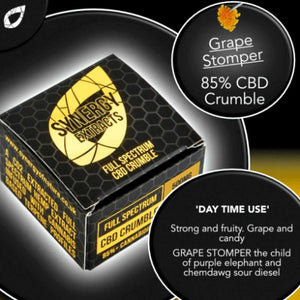 Grape Stomper CBD Crumble Cannabis Terpenes