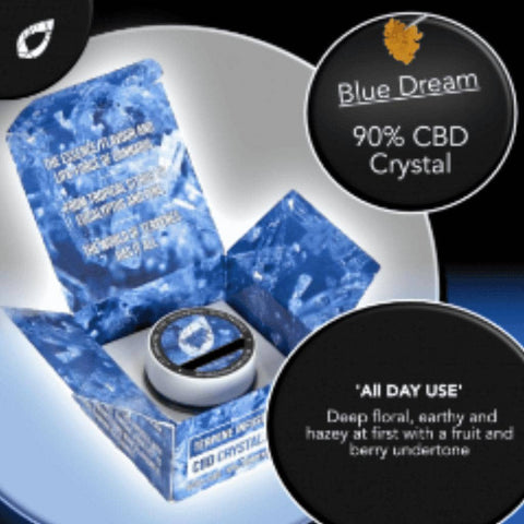 Blue Dream Cannabis concentrates Cornwall - CBD Oil Truro