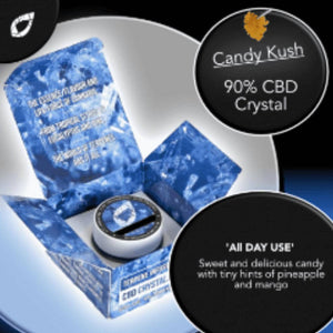 Candy Kush Terpene Infused CBD Crystal Isolate