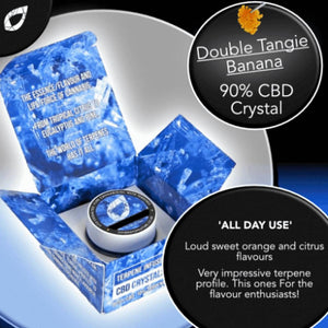 Double Tangie Banana Cannabis Crystals UK CBD