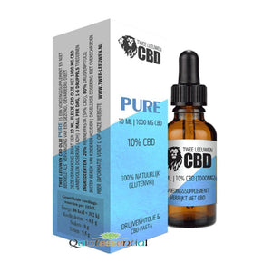 Pure -By Two Lions CBD UK - With Cold Pressed Grape Seed Oil