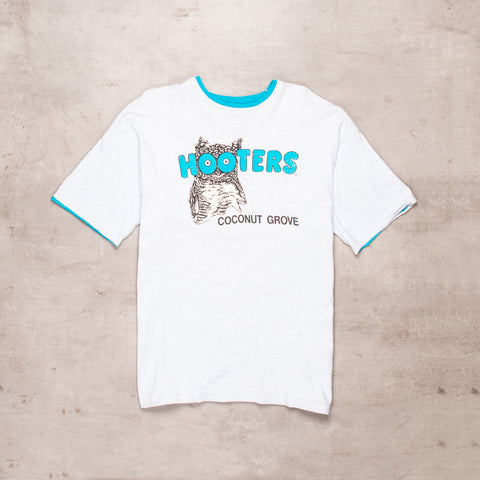 90s Hooters Ringer Tee (XL)