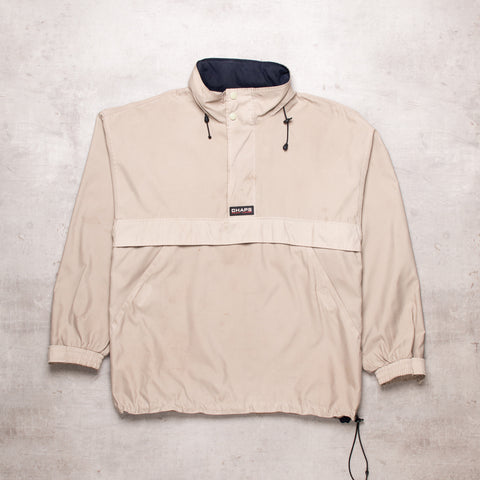 90s Ralph Lauren Tan Pull Over (XL)