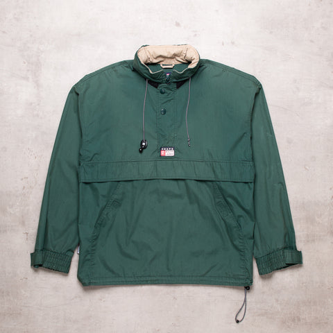 90s Ralph Lauren Green Pull Over (S)