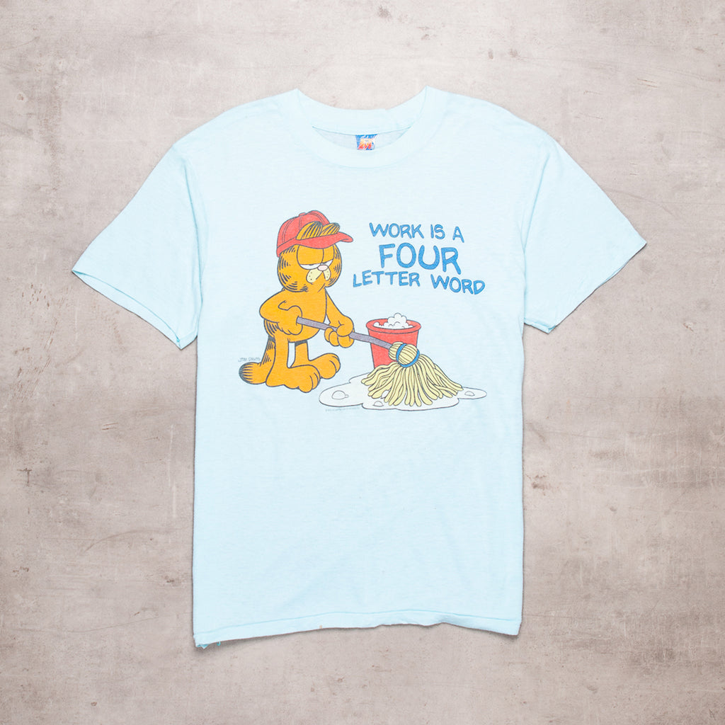 '78 Garfield Mopping Up Tee (XL)