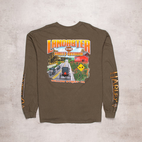 Vintage Harley Davidson Willow Street Long Sleeve (XL)