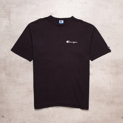 90s Champion Pocket Spell Out Tee (L)