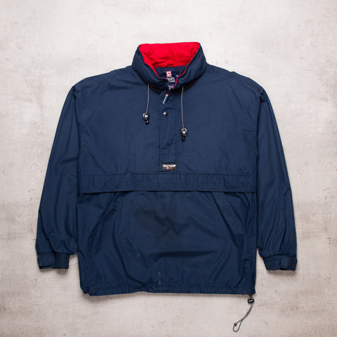 90s Ralph Lauren Navy Pull Over (XXL)