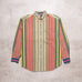 90s Tommy Hilfiger Striped Shirt (M)