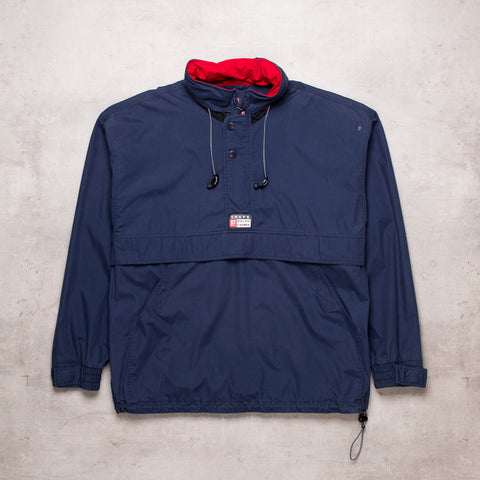 90s Ralph Lauren Navy Pull Over (L)