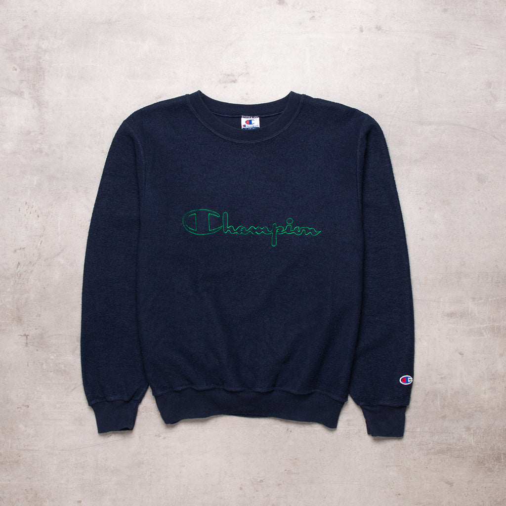 90s Champion Embroidered Sweat (XS / Ladies)