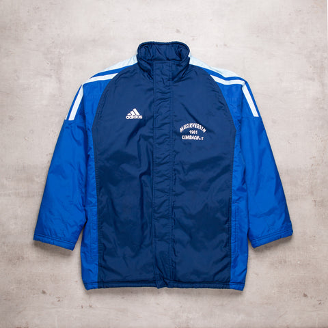 90s Adidas Warm Up Puffer Jacket (XL)