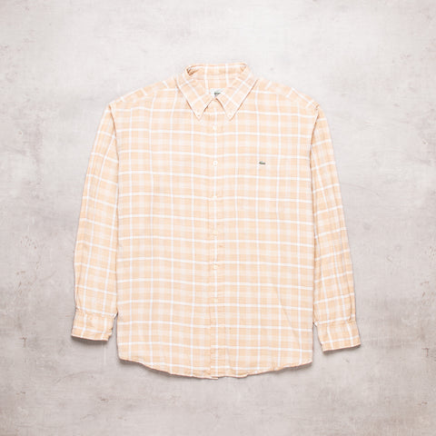 90s Lacoste Checked Shirt (L)