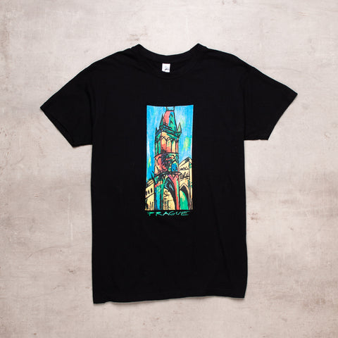 Vintage Prague Abstract Tee (S)