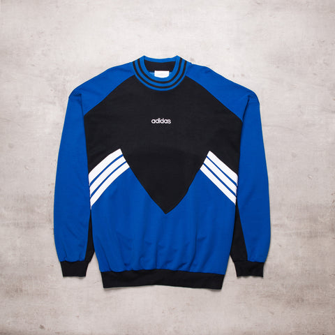 80s Adidas Colour Block Sweat (XXL)