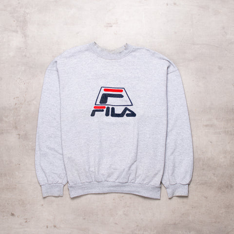 90s FILA Embroidered Sweat (S)