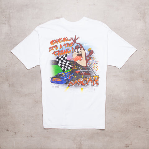 '95 Looney Tunes x Nascar Spell Out Tee (XL)