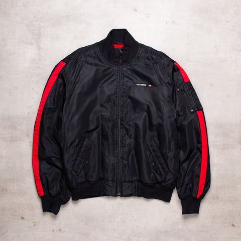 90s Ralph Lauren Padded Bomber Jacket (XL)