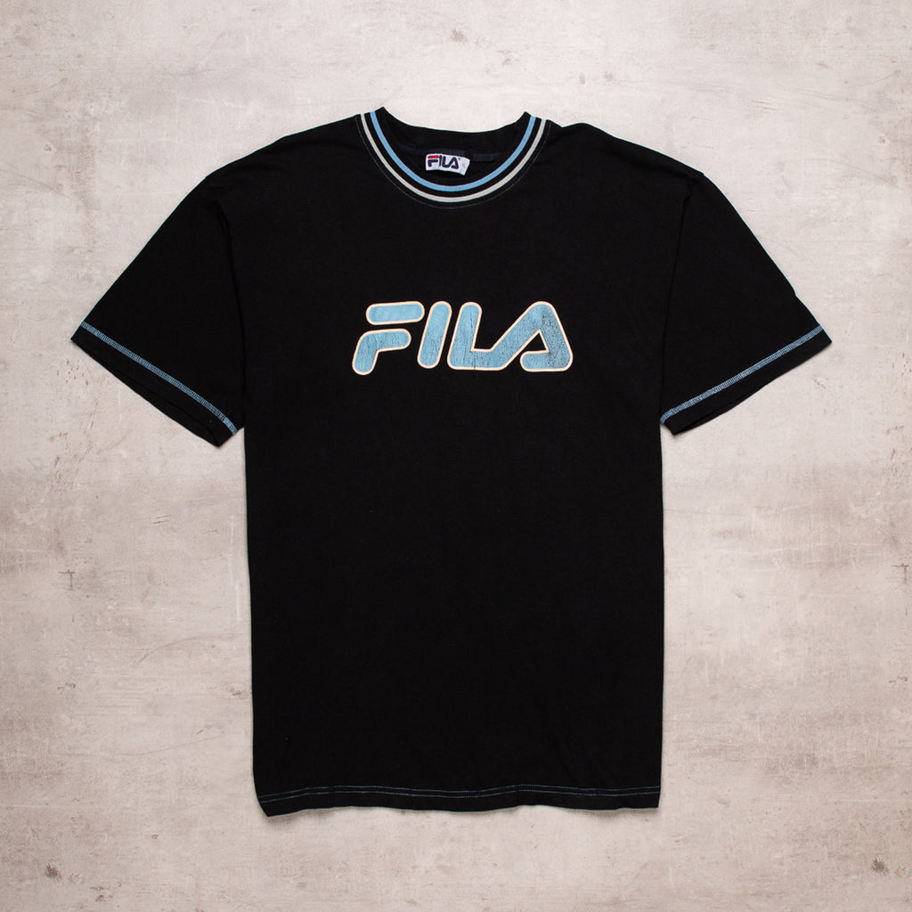 90s FILA Spell Out Tee (XL)