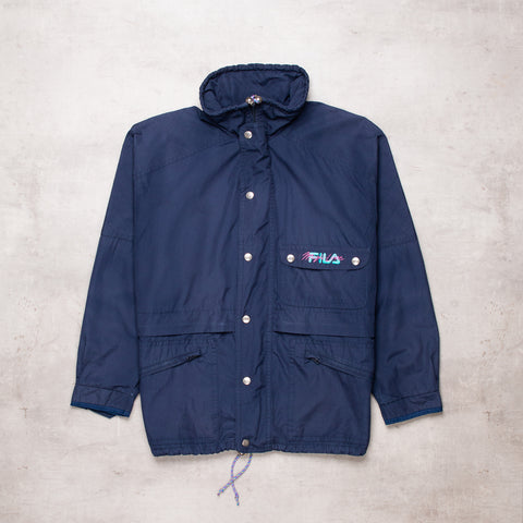 90s Fila Magic Line Windbreaker (XL)