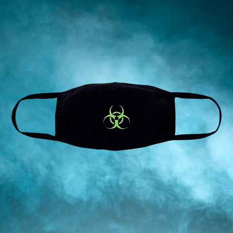 Biohazard Embroidered Face Mask