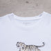 Modern Maharishi White Tiger Spell Out Tee (S)