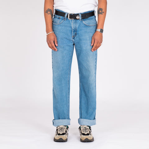 "Vintage Carhartt Deep Blue Denim (33"")"