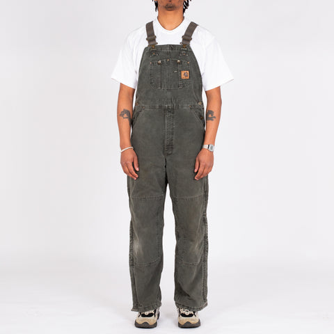 "Vintage Carhartt Utility Dungarees (34"")"