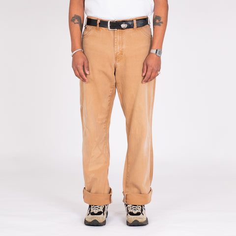 "Vintage Dickies Tan Utility Denim (33"")"
