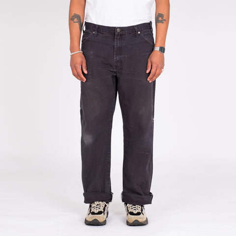 "Vintage Dickies Black Utility Denim (36"")"