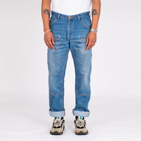 "Vintage Key Workwear Double Knee Denim (34"")"