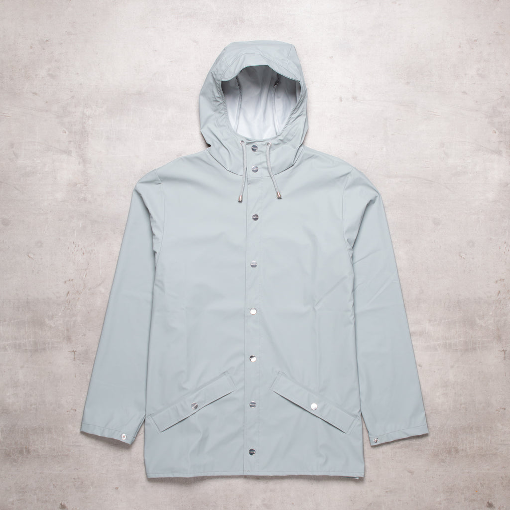 FRESH Rains Grey Rain Jacket (S)