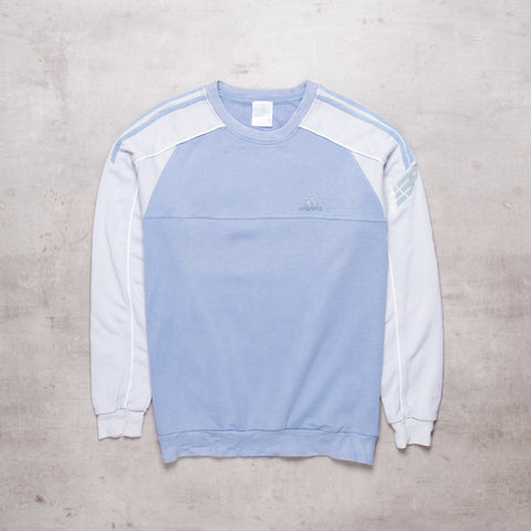 00s Adidas Pocket Spell Out Sweat (M)