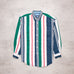 90s Nautica Colour Block Shirt (M)